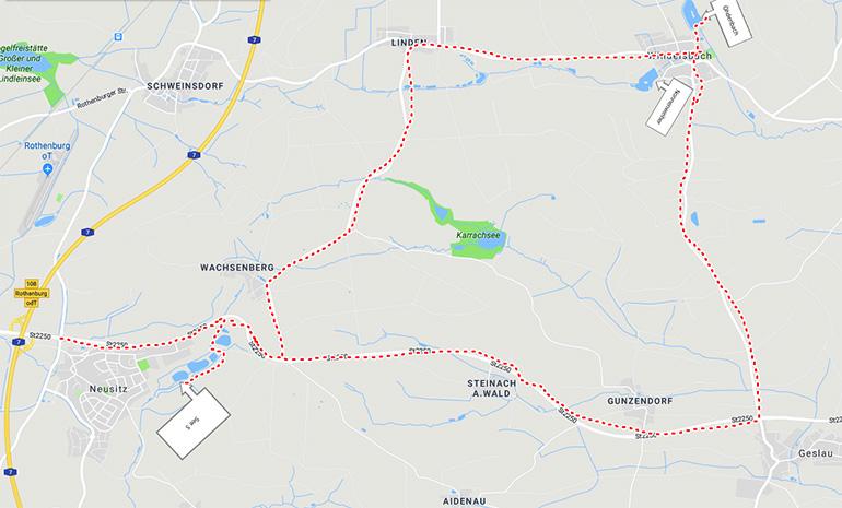 Ödenbachweiher und Nonnenweiher in Windelsbach